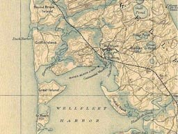 1887 Map of Wellfleet