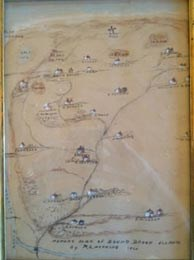 Historic map of Bound Book Island provided by Al Kraft