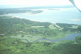 Overview of Wellfleet Harbor
